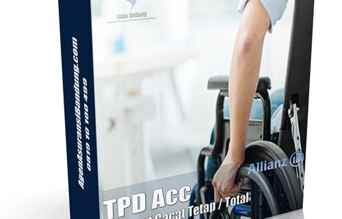 Rider Manfaar Cacat Total & Tetap Total Permanent Disability (TPD)